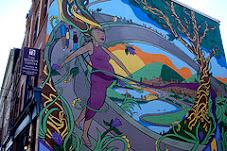 Midwifery mural