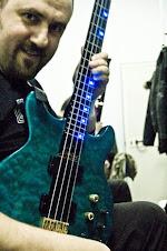 Angelo Orlando with his Status King Bass