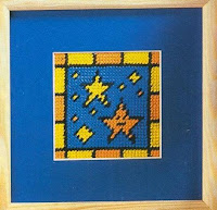 простые схемы для вышивания звезды