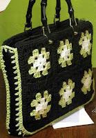 фото вязаных сумок