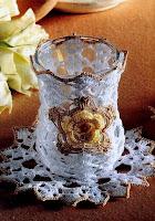 вязаные вазочки крючком, вязаные крючком сувениры