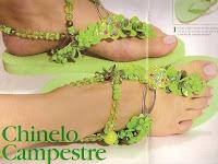 сандалии handmade