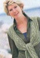 жилет-шарф фото