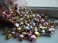 Объёмные звёздочки из бумаги