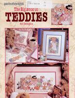 Книга со схемами вышивок Мишек Тэдди, представлены цветные иллюстрации фото работ и схемы к ним.  48 схем для вышивки...