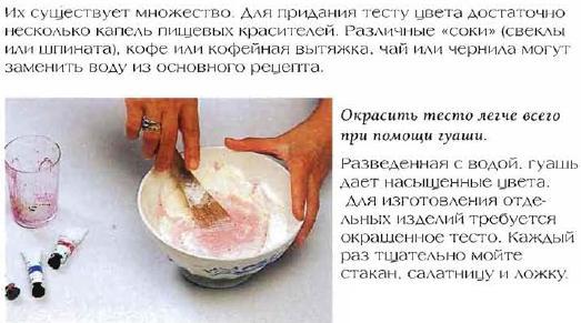 Как сделать солёное тесто в домашних условиях быстро