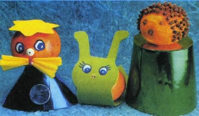 Детские новогодние поделки своими руками из мандаринов