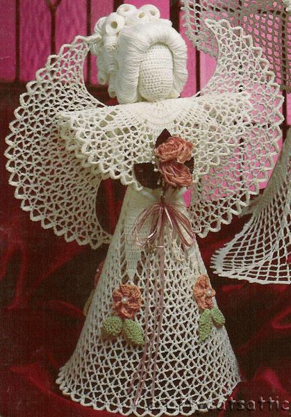 : Вязаные ангелочки крючком, схемы