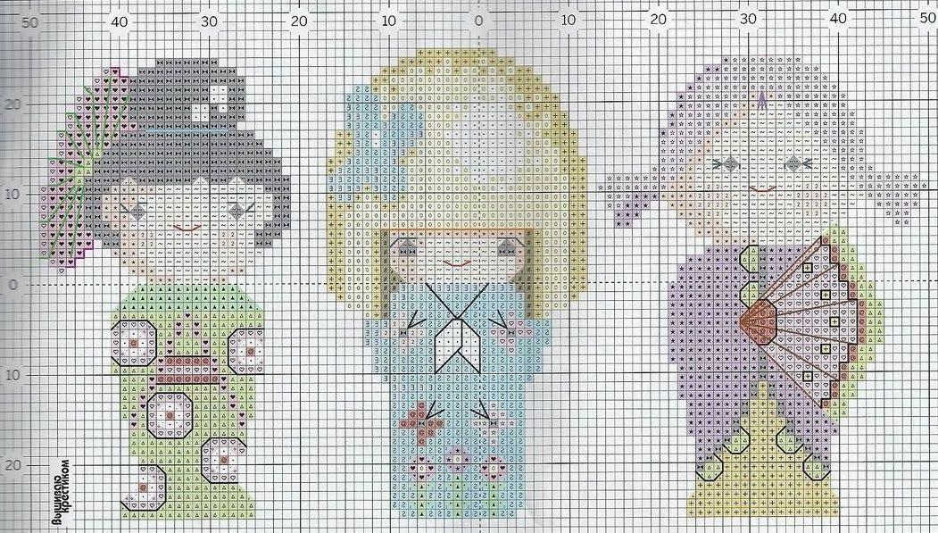 схема для вышивания