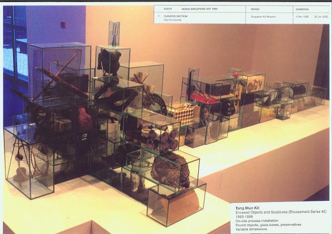 Encased Objects and Sculptures -1999