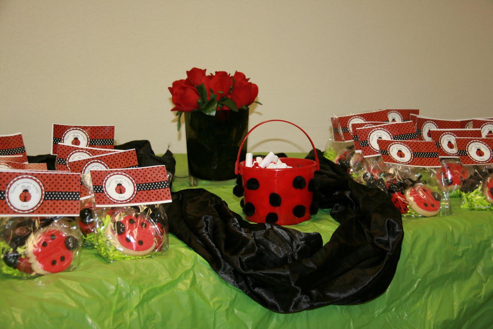 Ladybug Party Decoration Ideas