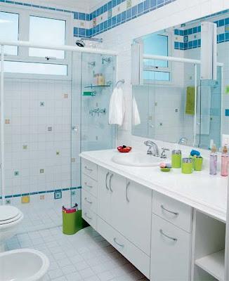banheirop 29 3 Banheiros simples e lindos