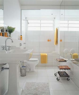 banheirop aecjun06 2 Banheiros simples e lindos