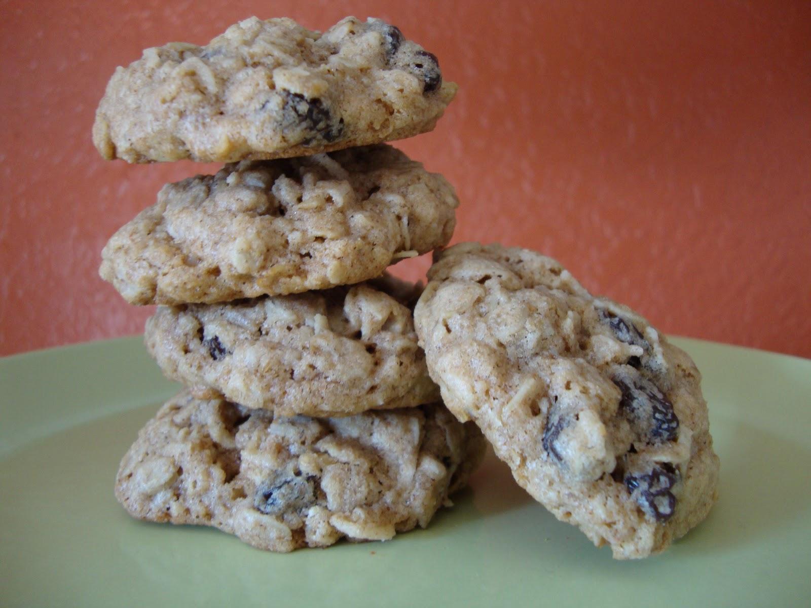 Indulge: Chewy Oatmeal Raisin Cookies