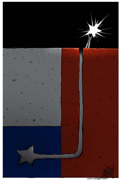 Caricaturas del Rescate de los Mineros Chilenos