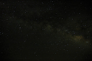 The Milky Way seen from McDonald Observatory