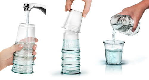 Bedside Water Carafe With Glass