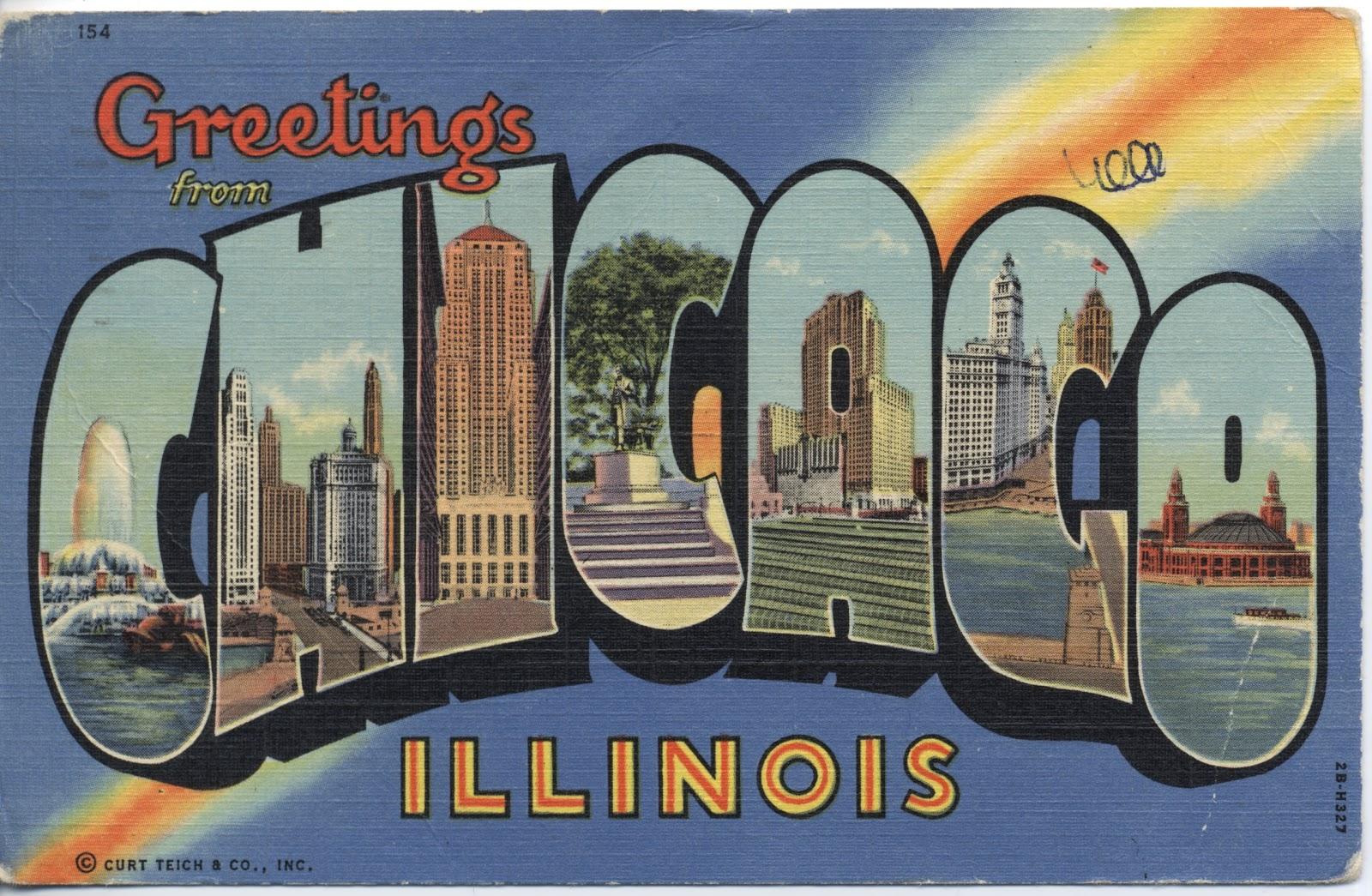 Postcards etc chicago
