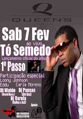 To Semedo Live @ Queens the official 1o Passo Album Launch