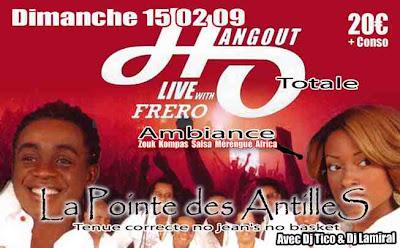 Les Pointe des Antilles avec Dj Tico et Dj Lamiral