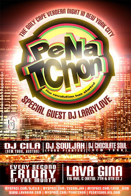Pena Tchon Every Second Saturday of the month with Dj Cila @ Lava Gina