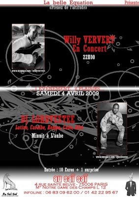 Willy Ververt en concert au Sai Sai