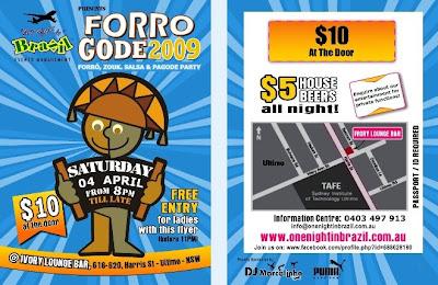 Forro @ Ivory Lounge Bar - NSW
