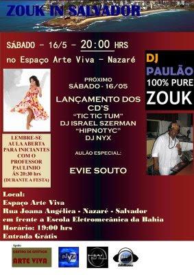 Zouk in Salvador - com Dj Paulao