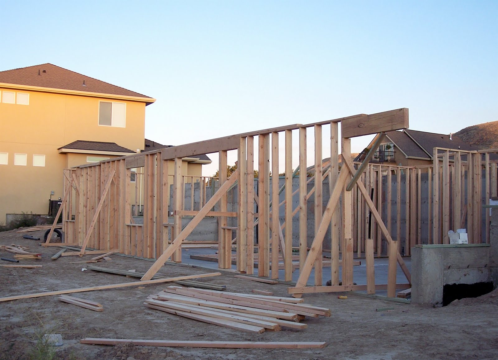 Building a home framing the basement for House framing 101