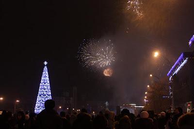 Харьков, пл. Свободы, Новый год