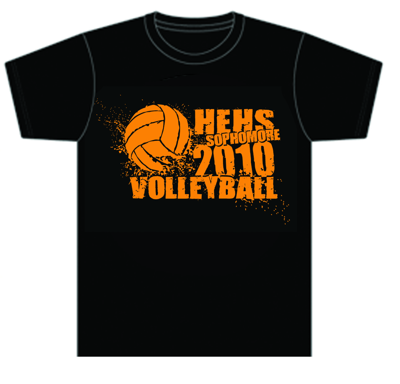 High School Volleyball T Shirt