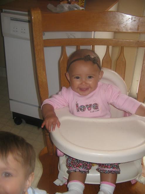 Aliya 8 months!