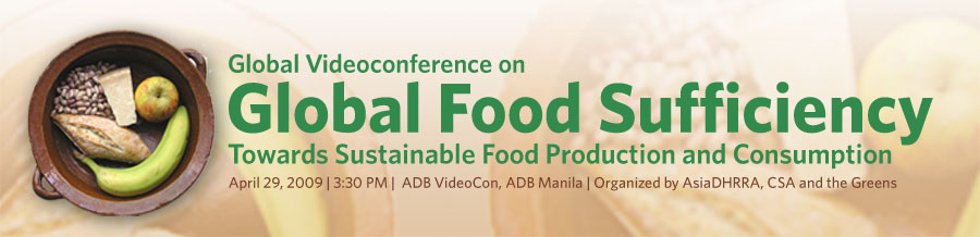 Global Food Sufficiency Videoconference