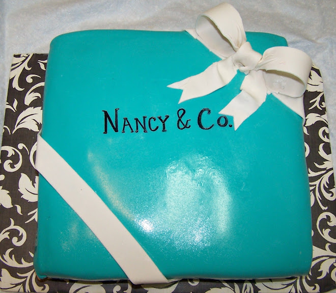 Nancy & Co - Tiffany Style Cake