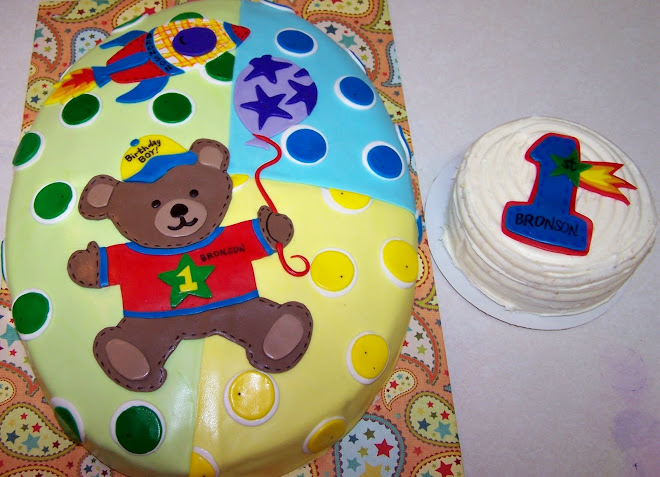 Fun First Birthday Cake