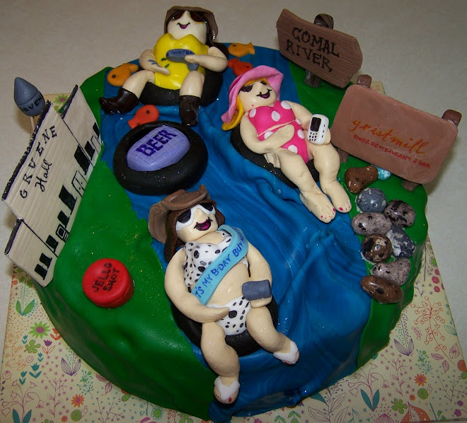 Girls River Cake