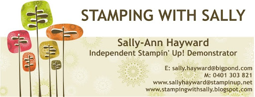 Stamping with Sally