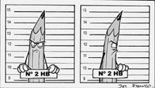 Criminal Pencil Profile