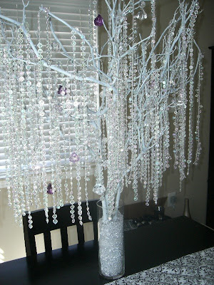 of those centerpieces but you can create an almost identical crystal