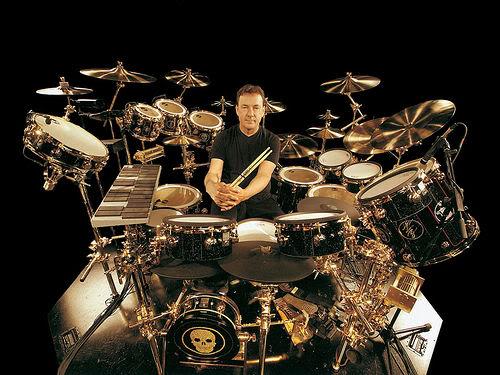 Neil Peart Drum Set