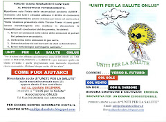 """UNITI PER LA SALUTE"" è ALL' EXPO 2010  Con""CORRERE ..VERSO IL FUTURO COL SOLE,COL VENTO MA NON .."""