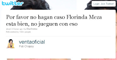 Dona Florinda, interpretada por Florinda Meza, morreu só em boatos