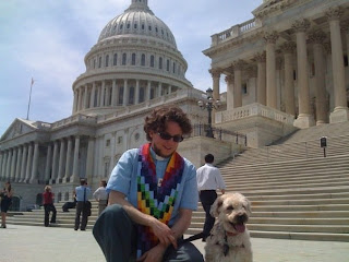 Frida and Jay lobbying in DC