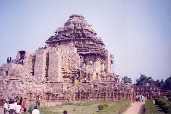 Ruins of the Great Sun Temple at Konark, India