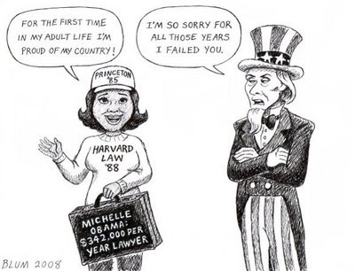 michelle obama uncle sam first time in my life
