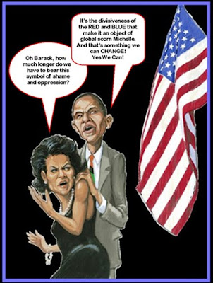 barack flag cartoon