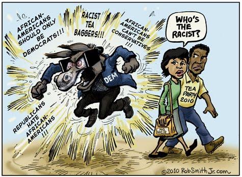 Democrats racism 1860 and 1960