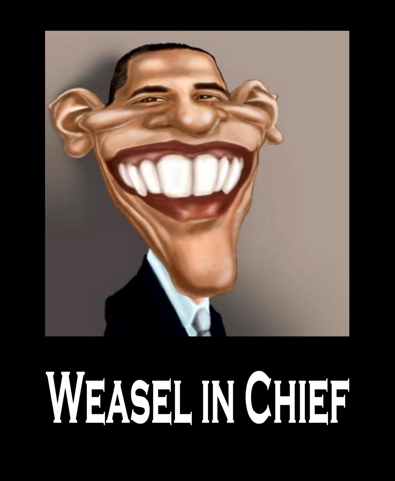 weasel in chief