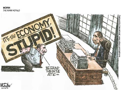 its the economy stupid