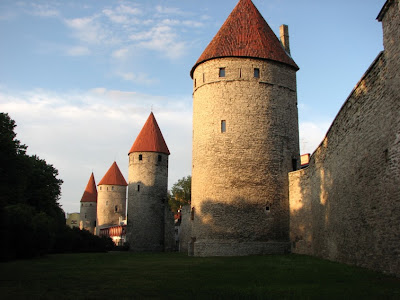 Tallinn city wall